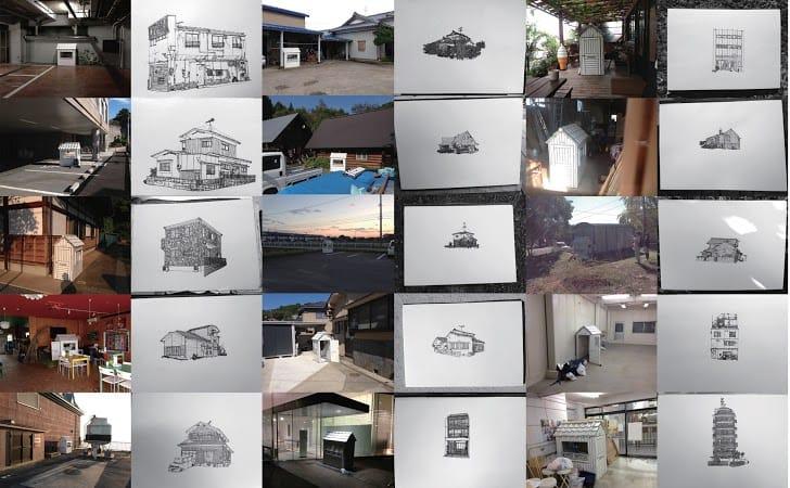 美術家・村上慧さんの個展『移住を生活する1〜182』