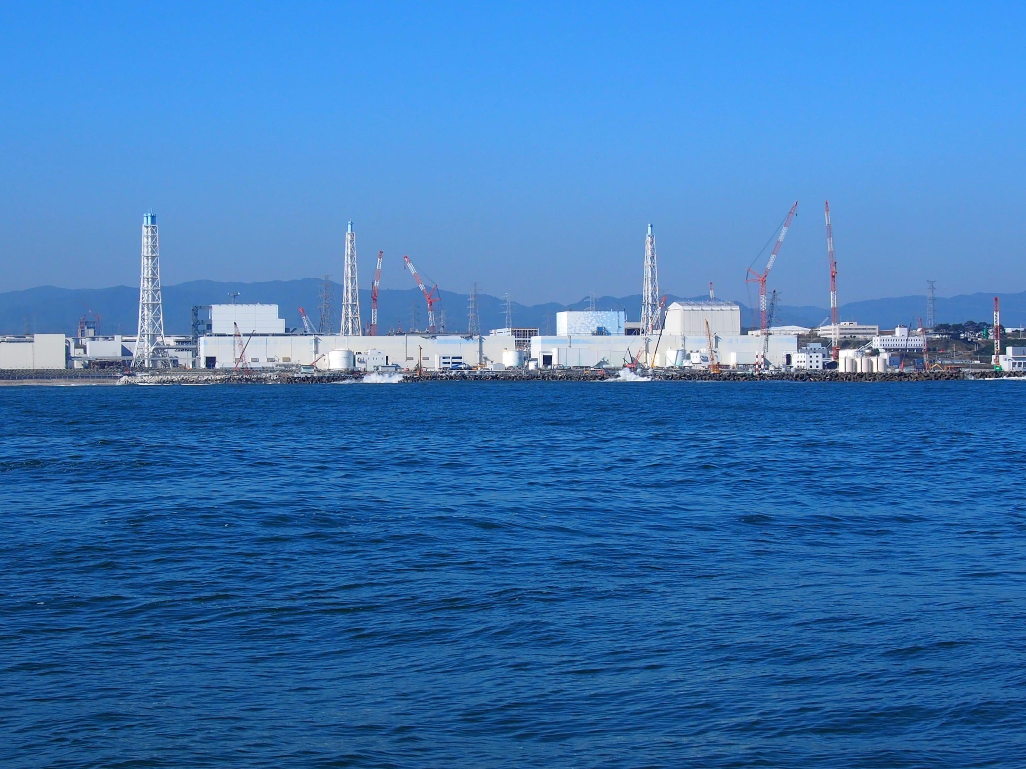 粛々と廃炉にむけての作業が続けられる福島第一原子力発電所。