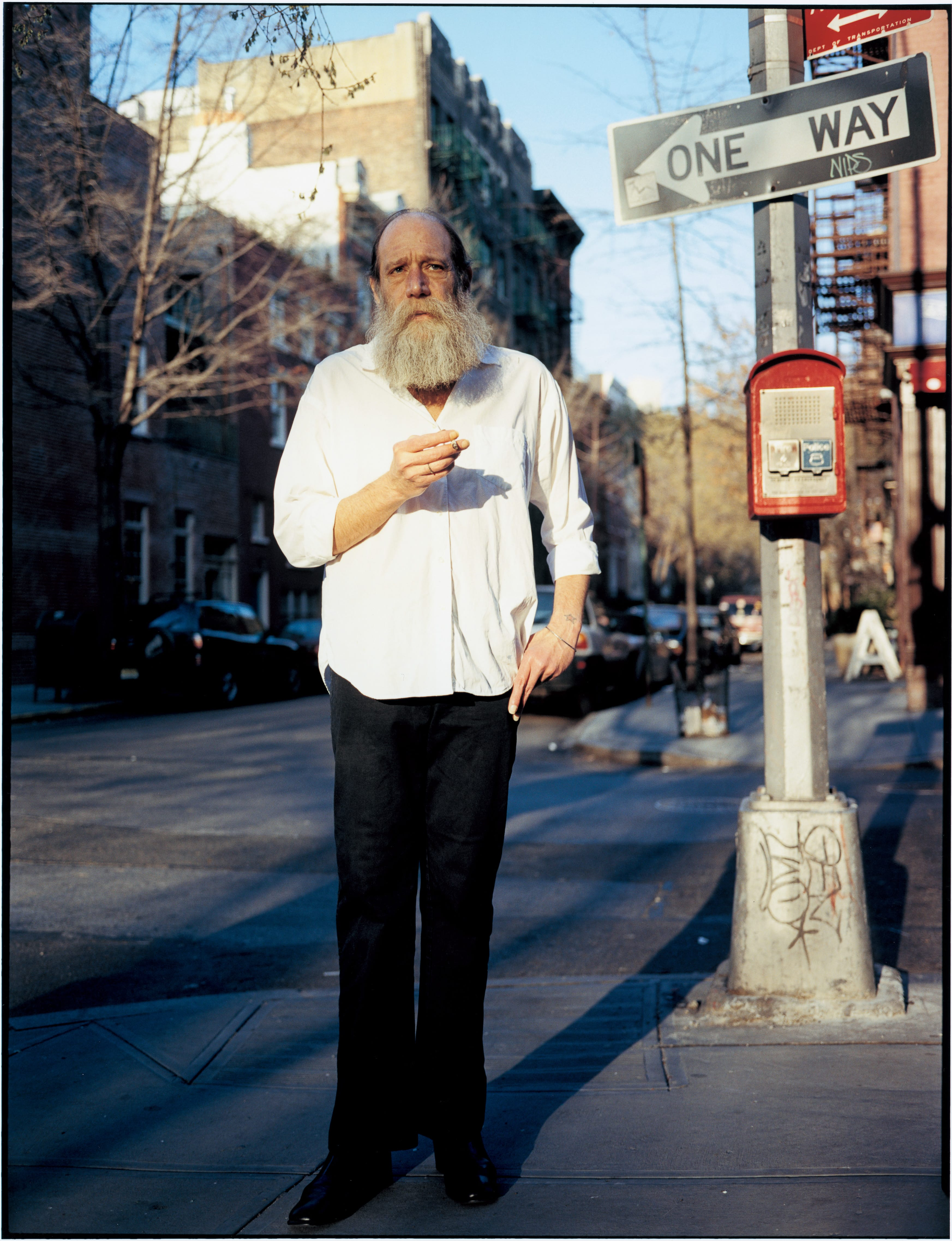 Lawrence Weiner / 2003年
