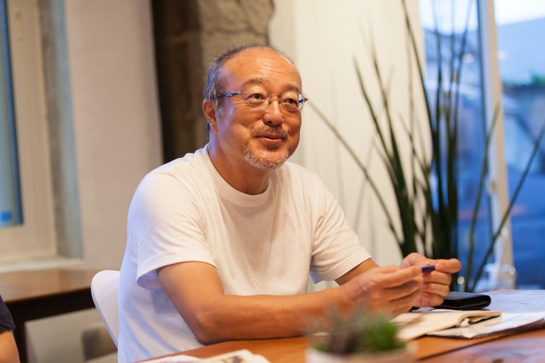 新島の人と食に惹かれ、「TOKYOガストロノミーツーリズム」を企画した、USPジャパンの横澤武留さん。