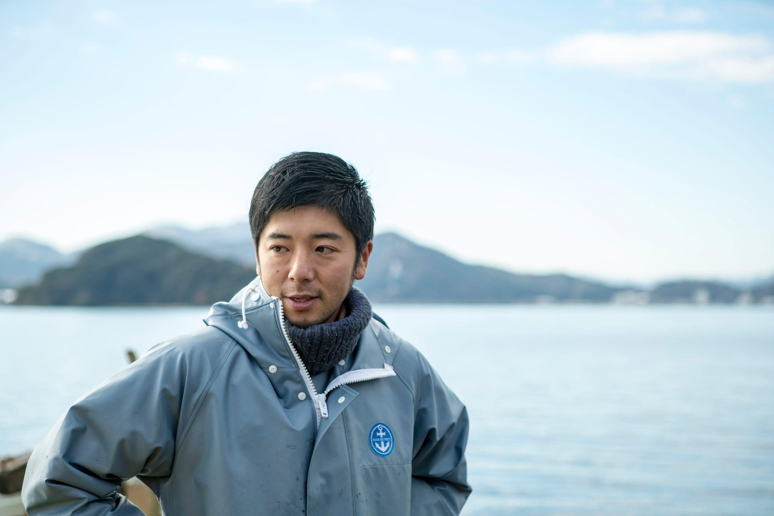 岡山拓也さん。東京では木製デザイン雑貨のメーカーで働いていた。
