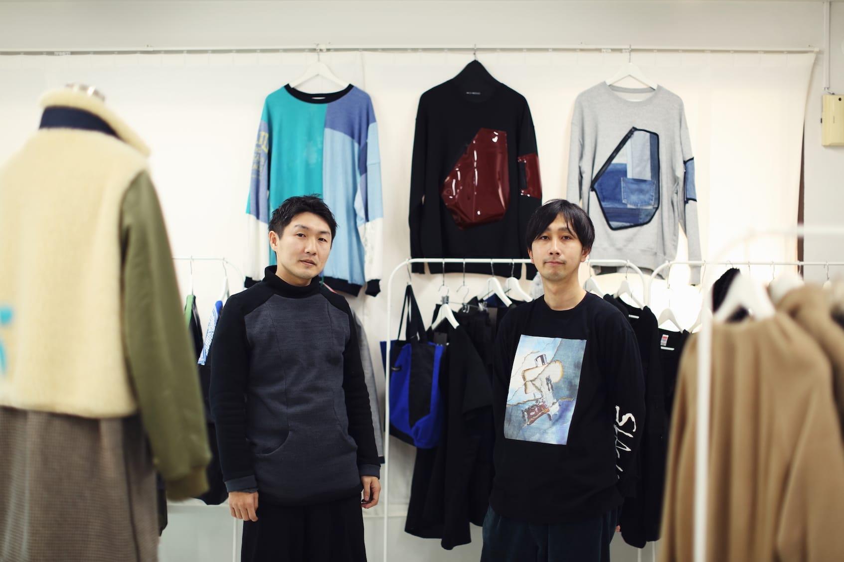 「SONAR」の高橋健太さんと。高橋さんが手がける「NICK NEEDLES」のほか、東京の若手のブランドをセレクト。雑居ビルの6階にあり、隠れ家のようなお店。