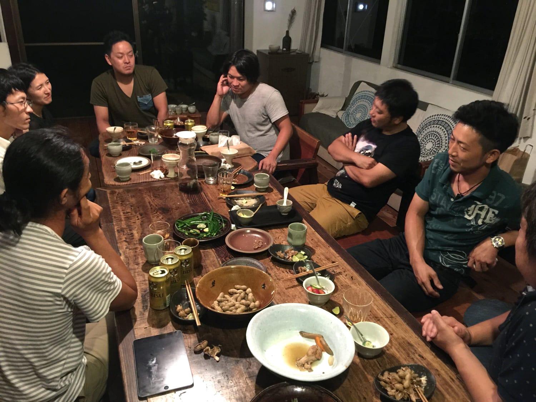 2016年9月、栃木県益子へ。工務チームで2度目の視察に行ったときの写真(提供:工務チーム)