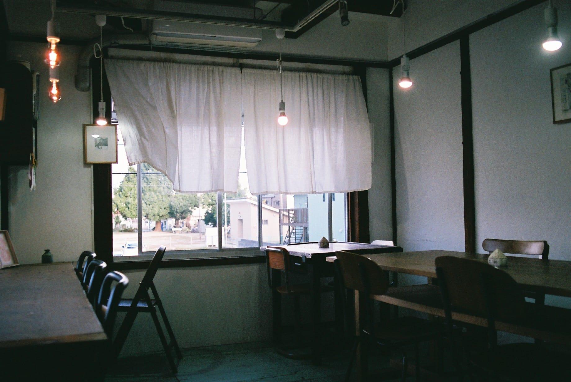 キャプション:カフェの説明?