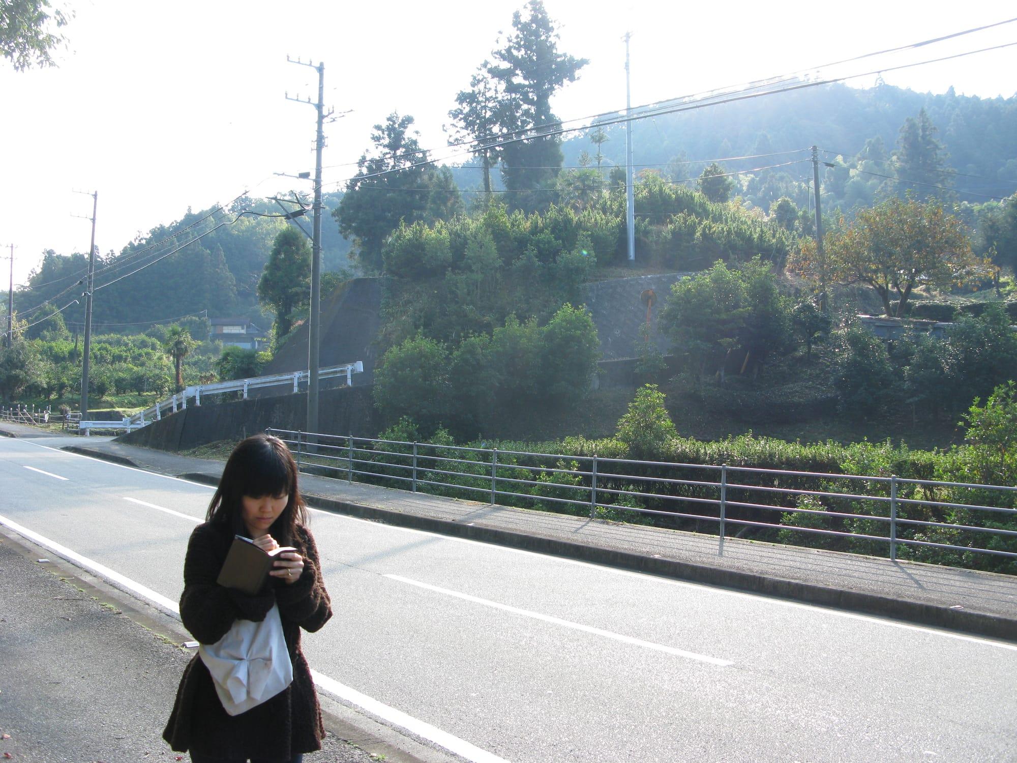 2009年、神山を訪問したときのいといさん。