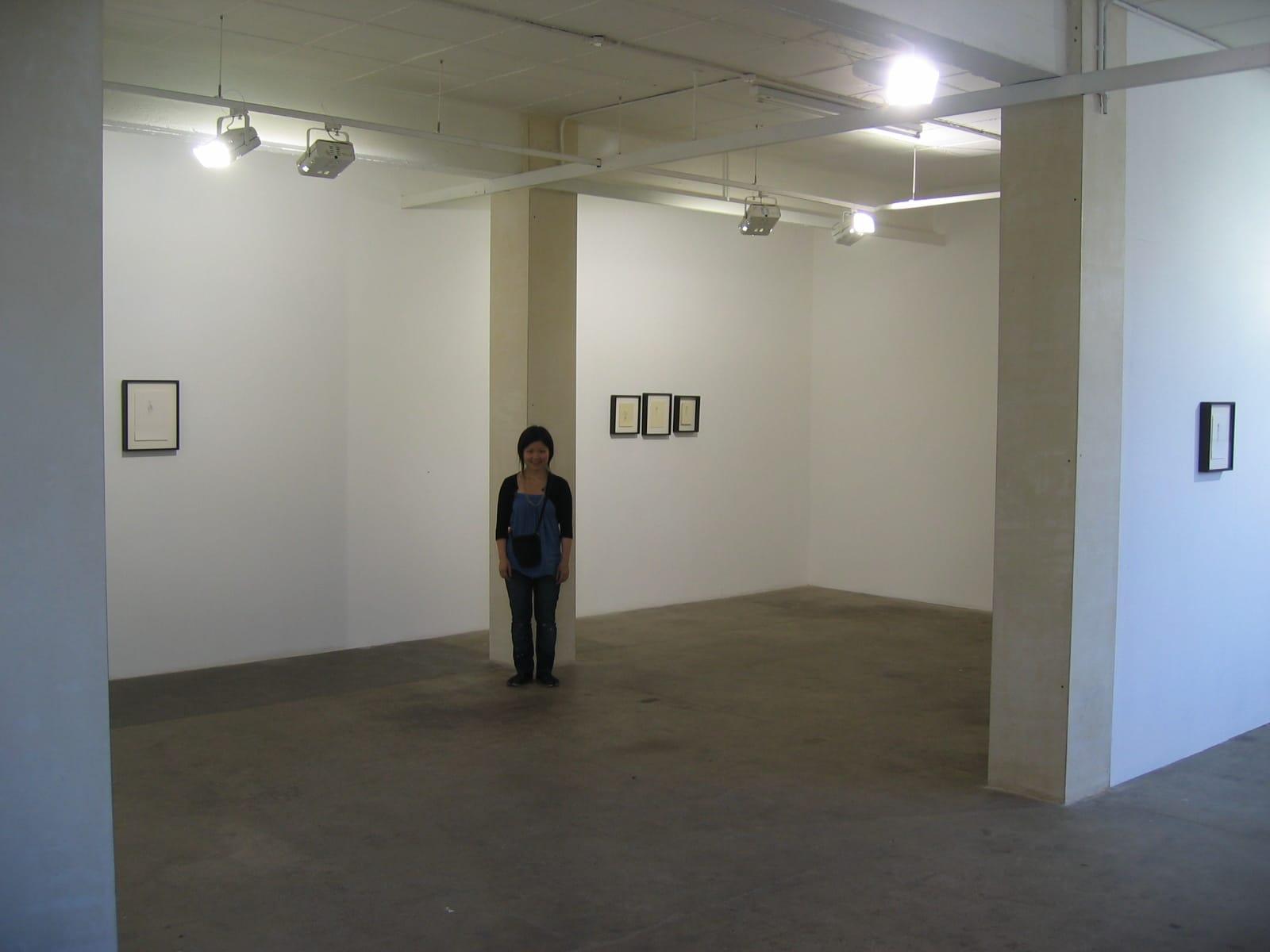 ロンドンのギャラリーにて(2006年)