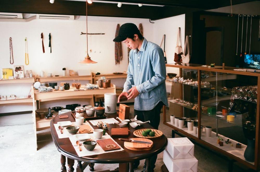 鳥取の民芸にふれる場をつくり、 土地と暮らす人に近づいていく