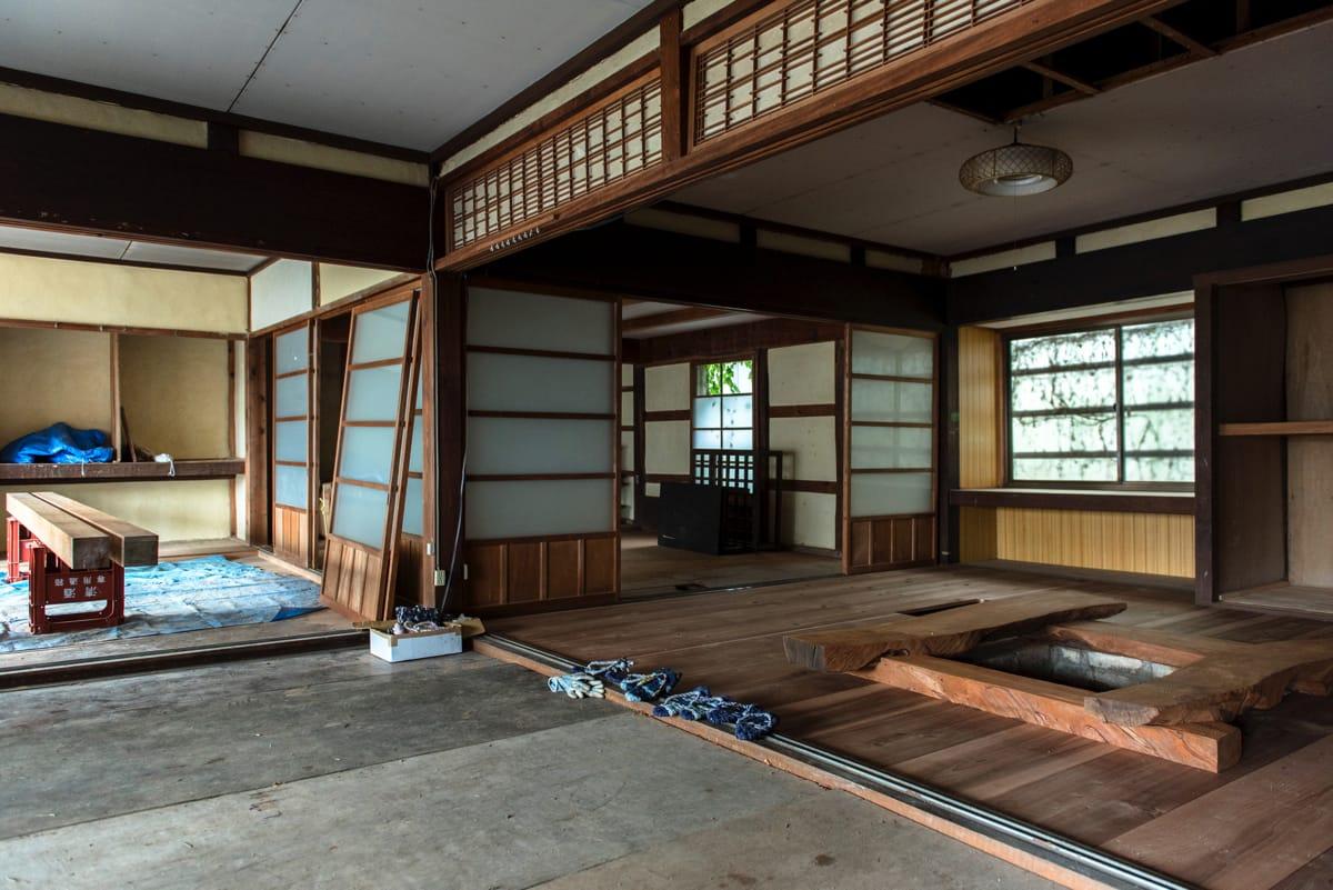 セヤハウスの建物は、戦後しばらく、積雪で通学ができなくなる季節には、世屋地域の子どもたちの寄宿舎だったそう。
