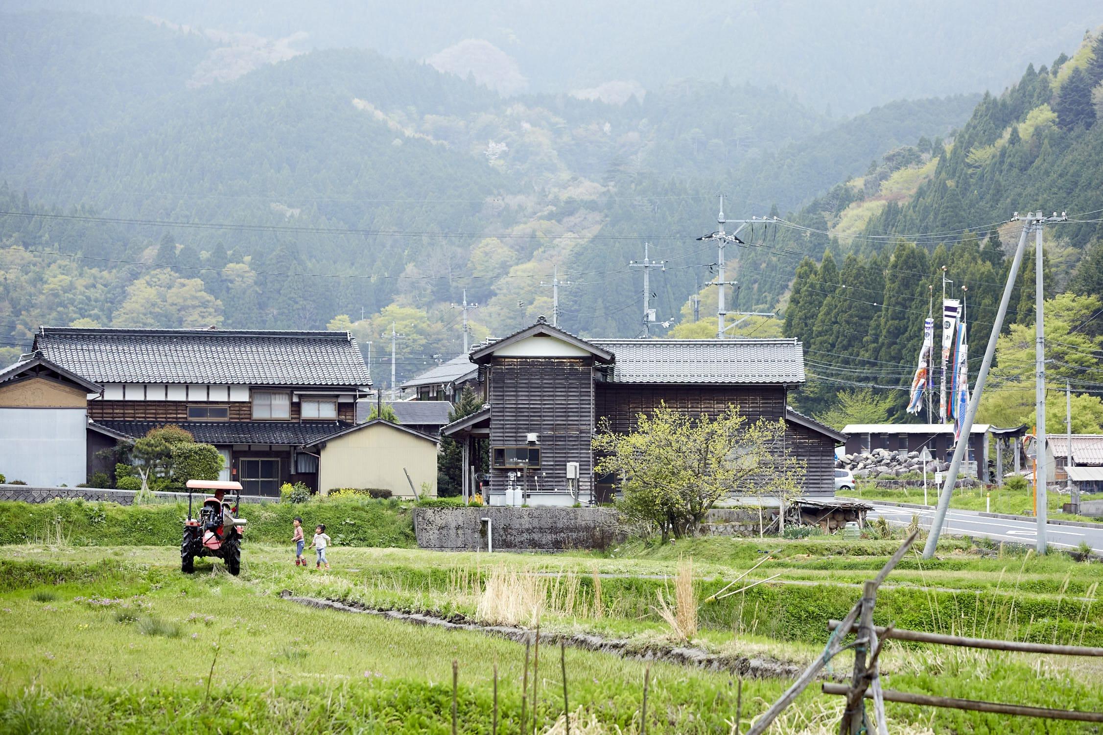 鳥取の風景_智頭町