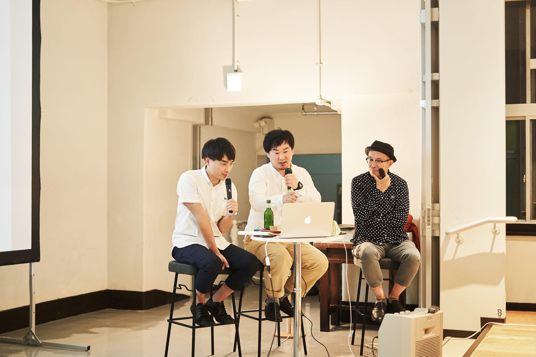 初代クリエイティブディレクターの山阪佳彦さん(右)も急遽登壇。