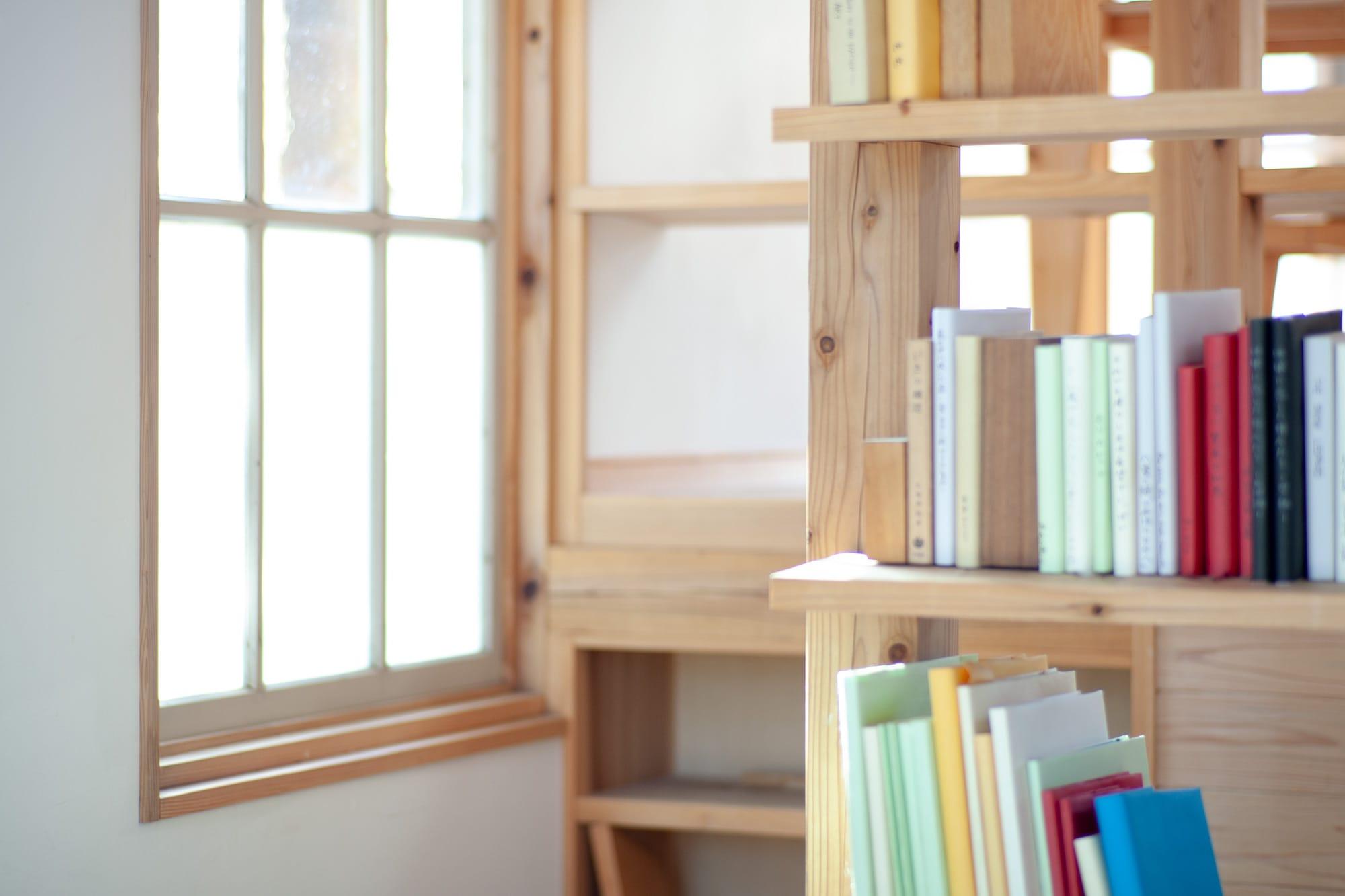 Hidden Libraryの本棚
